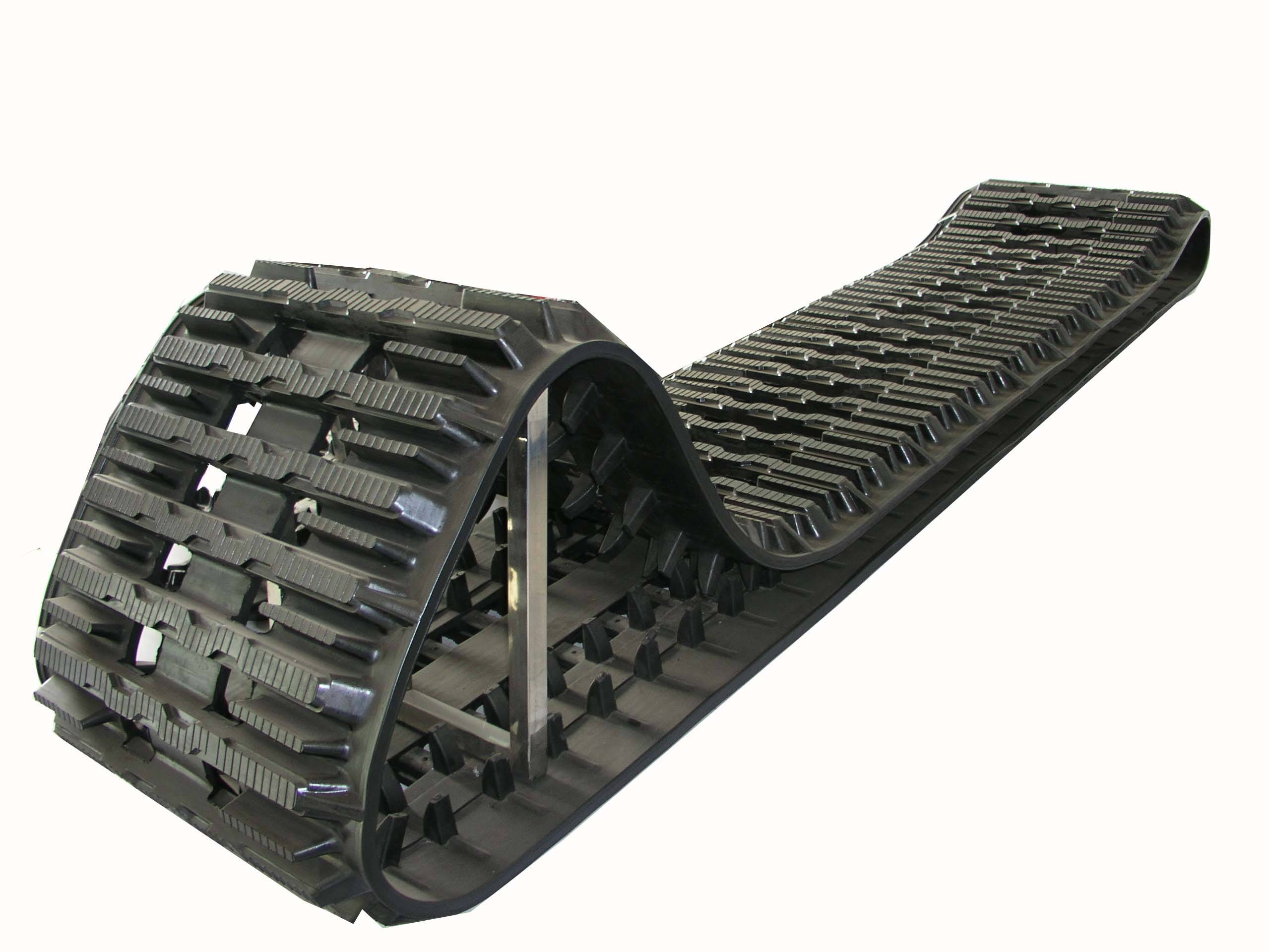 Rubber track for BV206