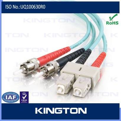 st sc fiber optic patch cord