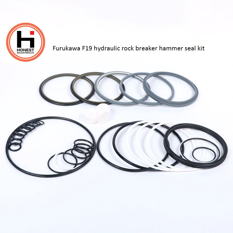Furukawa F19 Hydraulic Break Hammer Seal Kits Breaker seals