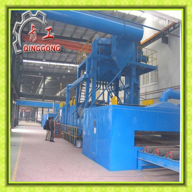 Approved Automatic Roller Shot Blasting Steel Sheet Machine