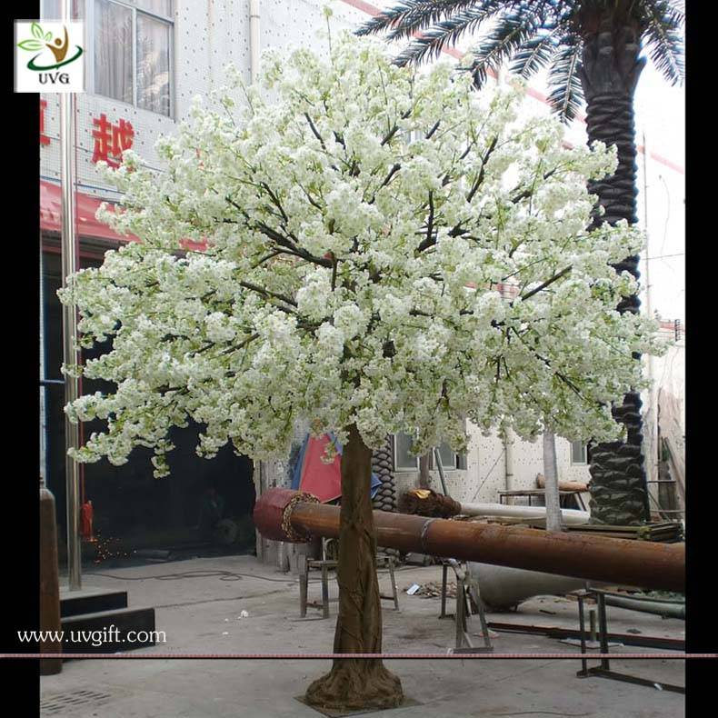 UVG CHR011 Wholesale big fake flowering cherry tree for garden decoration
