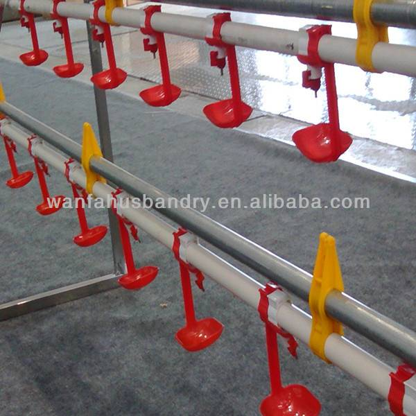 WANFA poultry/chicken/broiler nipple drinker line system for chicken house