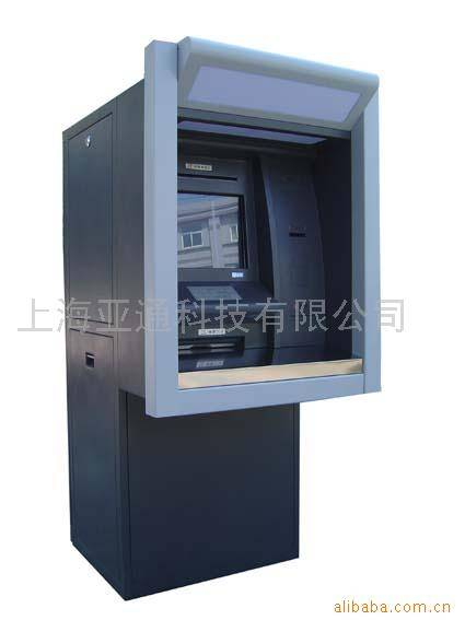 Wall embedded type touch screen Payment kiosk