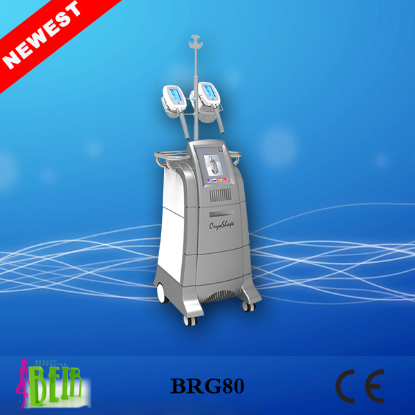 100% Fat Freezing Cryolipolysis Cold Body Sculpting Machine With Large Cryo Heads Size For Salon Use