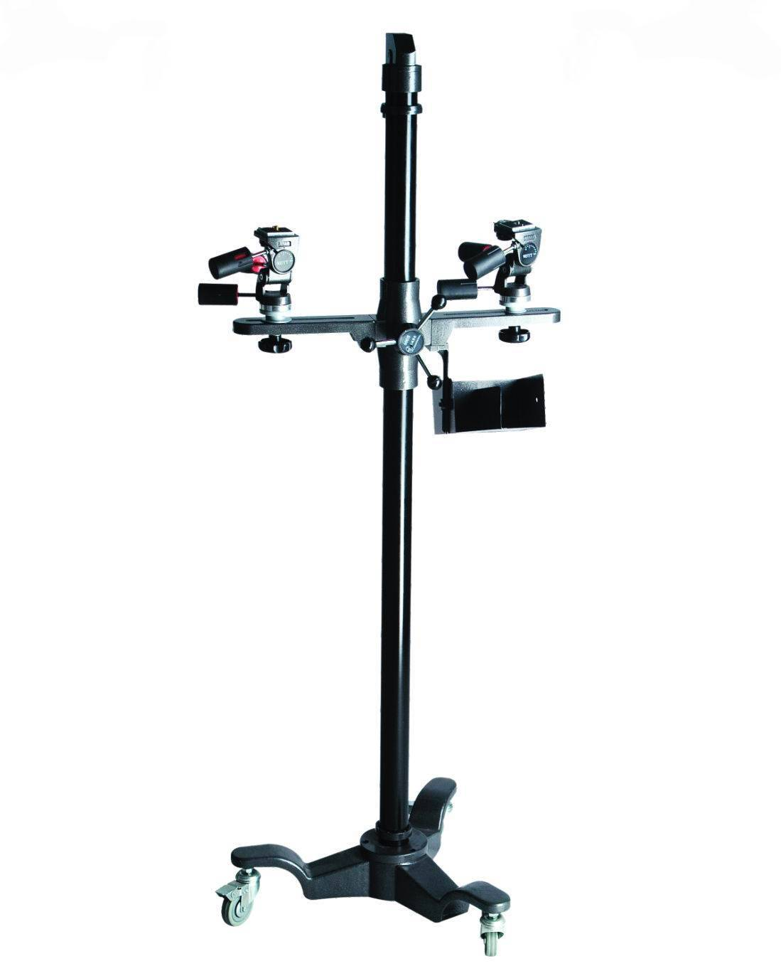 Studio Camera Stand with Counter Balanced Cross Arm,20kg Loaded Capacity
