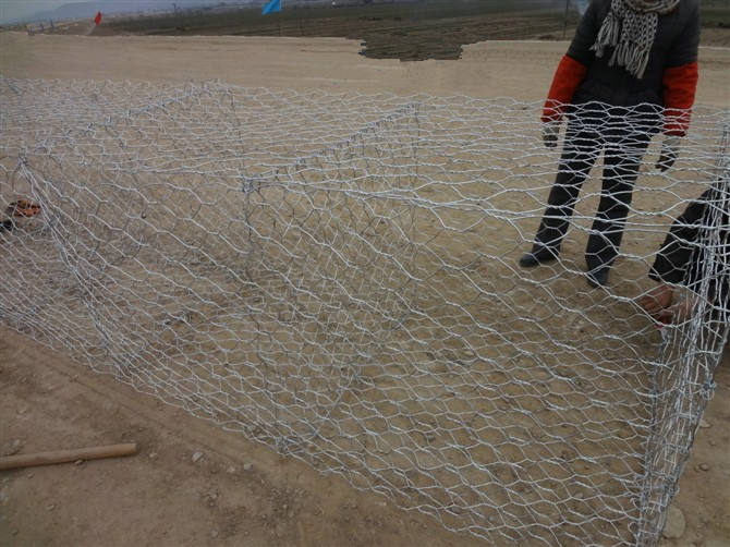 stone cage netting