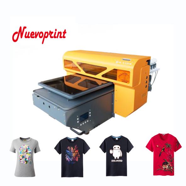 2018 Best dtg direct to garment fabric t shirt printer tee shirt printing machine NVP4880DTG