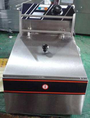 Professional Manufacturing CE Commercial Electric Deep Fryers Sigle