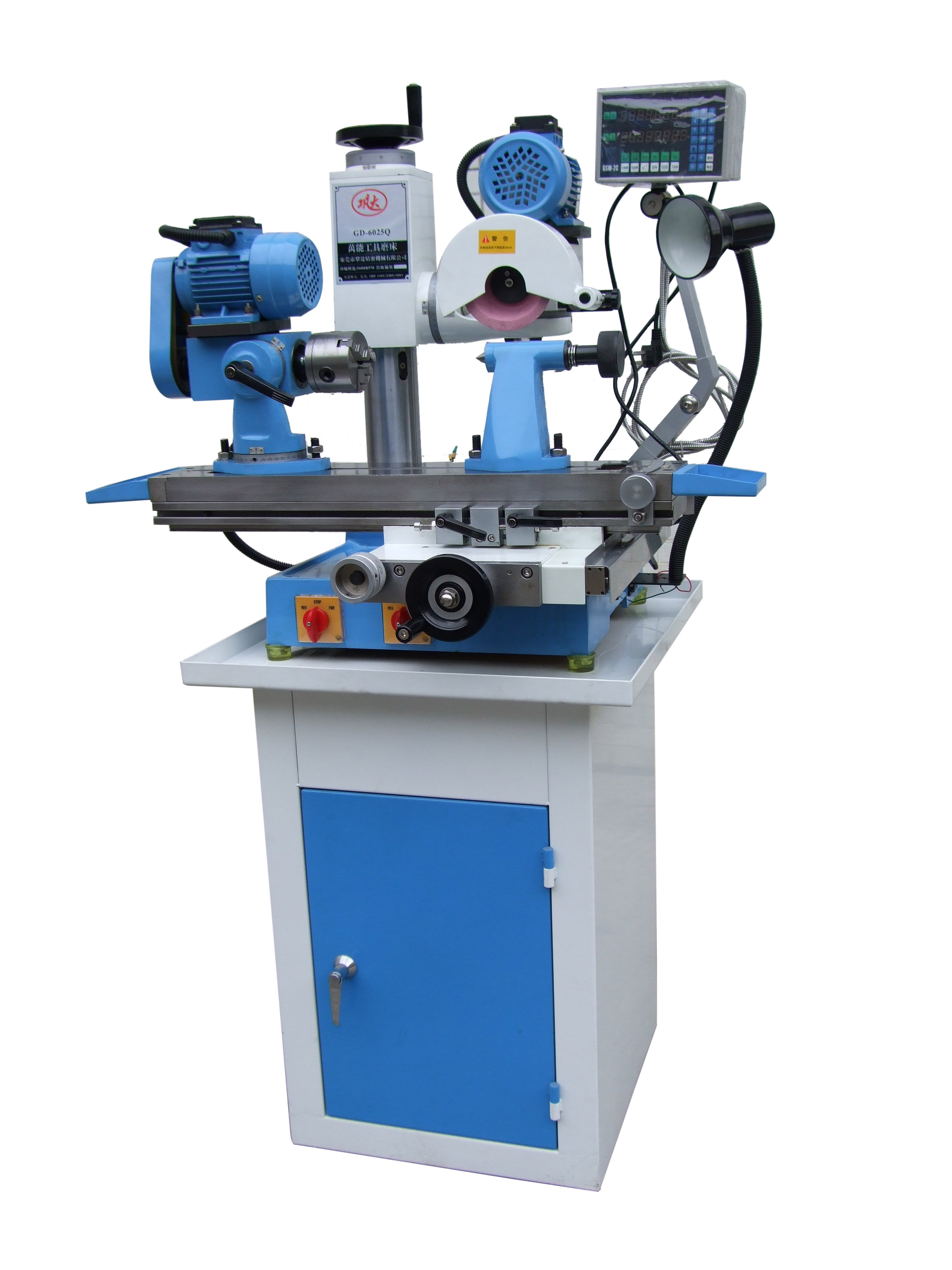 digital read-out universal cutter&tool grinder