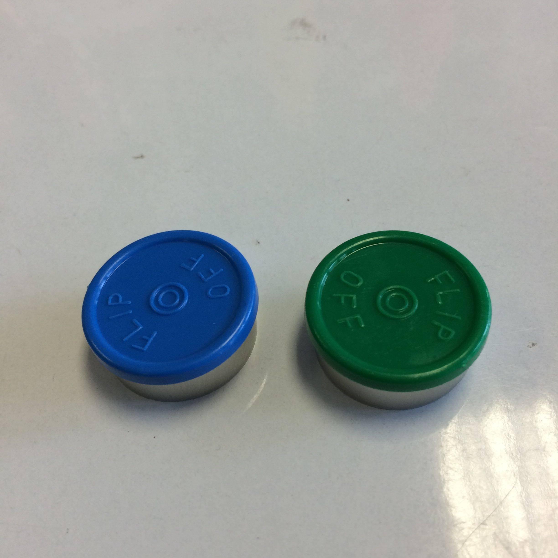 20MM Aluminum plastic cover bottle caps