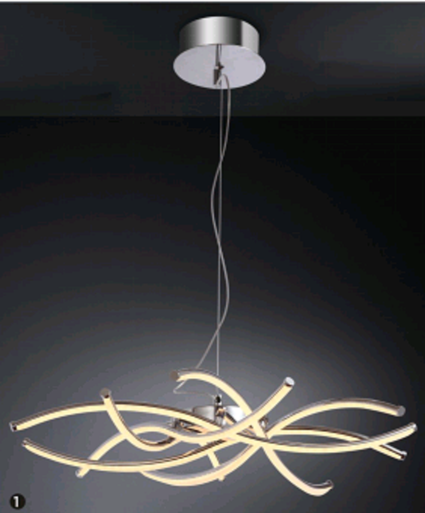 4W DC12V LED ALUMINIUM PENDANT LIGHT-P62856