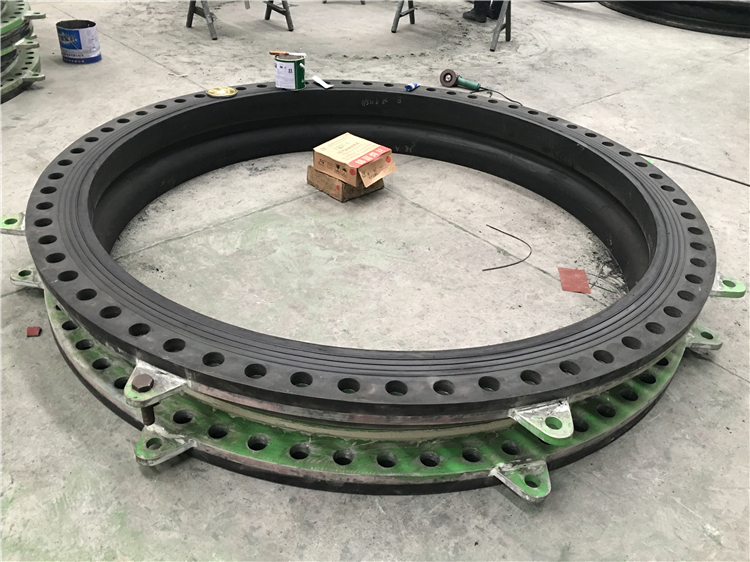 MD601 DN2400 pipeline joint flexible epdm rubber coupling