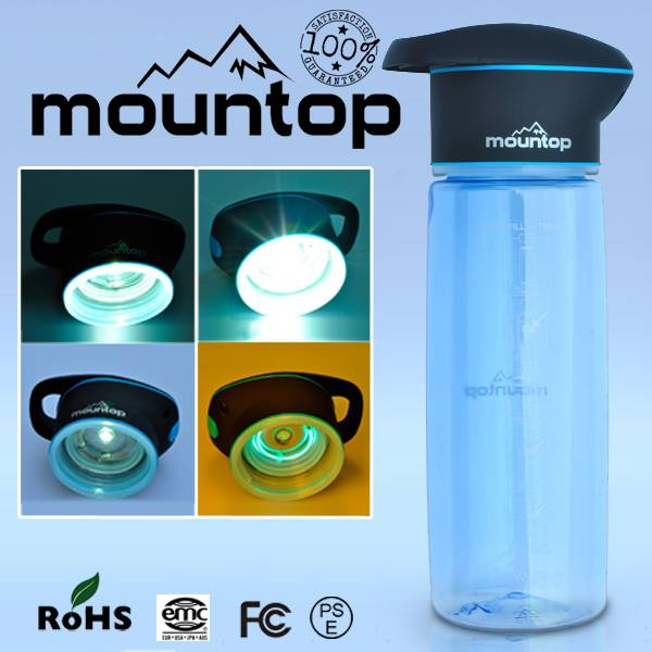 UV Lamp Hot-Selling Tritan Sports Water Bottle