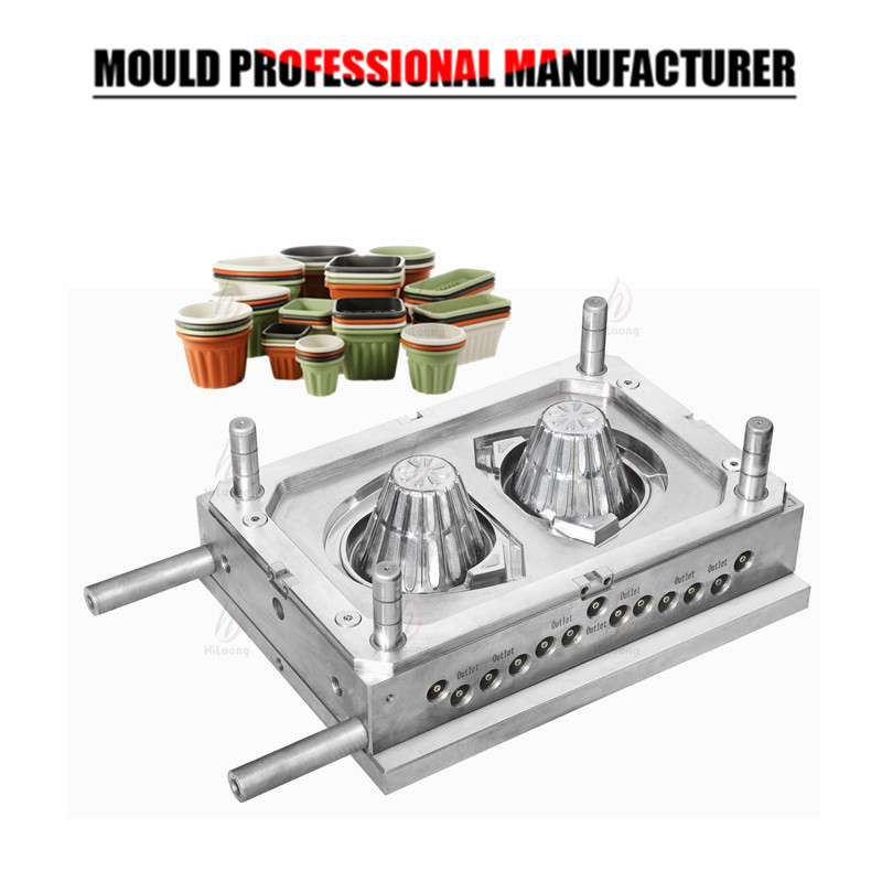 flower pot mould plastic injection mould
