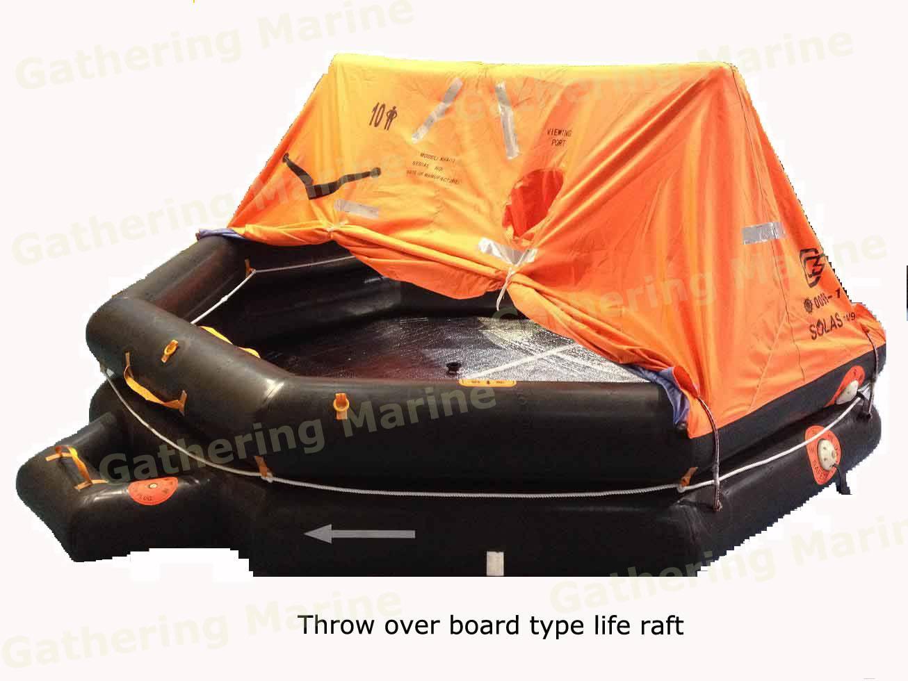 Inflatable life raft, Solas emergency liferaft( Pack A&Pack B)