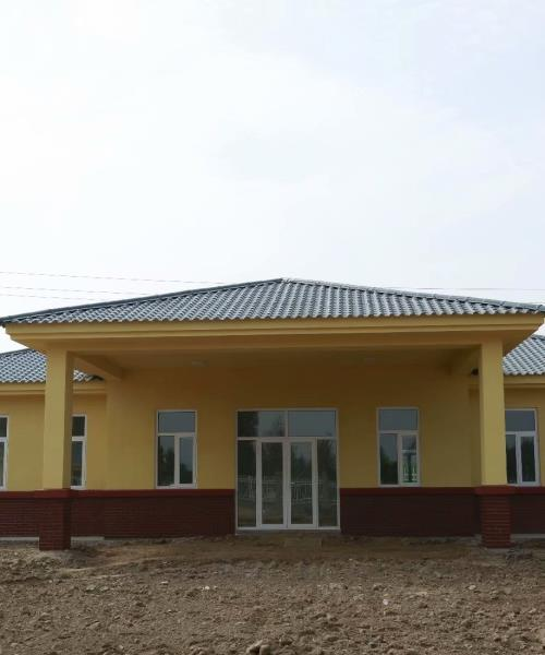 Light Steel Structure Office Prefabricated Office House