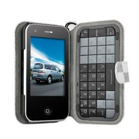 Dapeng T2000 JAVA TV WIFI Phone iphone shape Qwerty keyboard