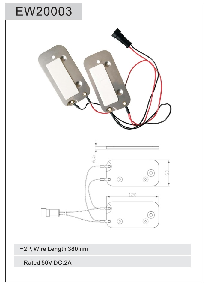 EW20003 Seat Switch Sensor Seat Part Automatic Braking Sensor Forklift Part