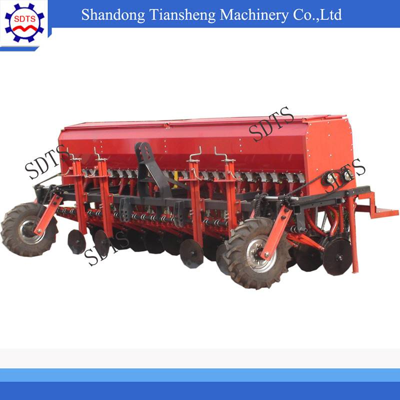 agricultural equipment,24 rows seed planter/ wheat seeder with fertilizer drilling for tractor