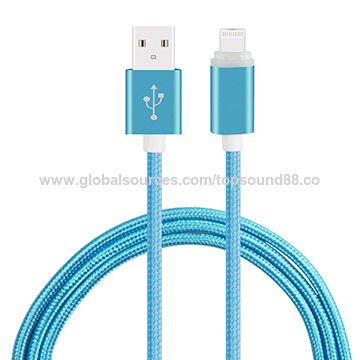 Braided aluminum alloy wire USB data cableNew C-06