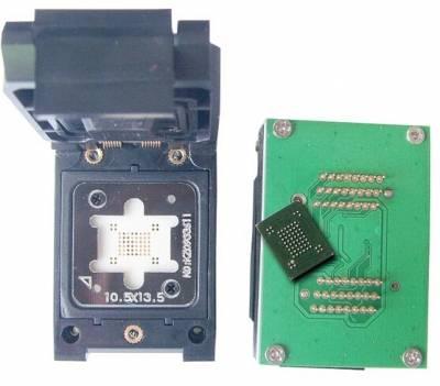 BGA63 To DIP48 IC Test Socket BGA63 programmer adapter