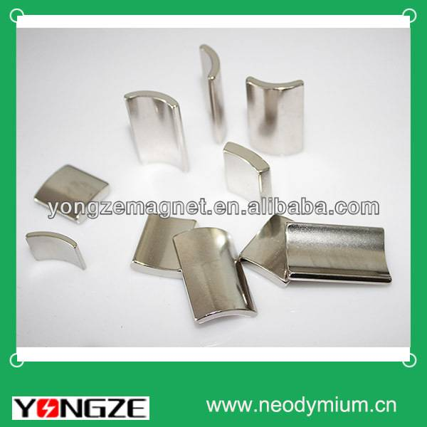 Neodymium Arc Magnet for motors, generators