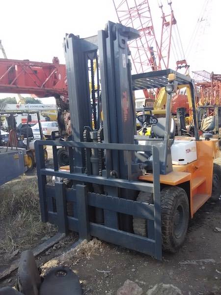 USED 7TON TCM FD70Z8 FORKLIFT MADE IN JAPAN WITH HIGH QUALITY IN LOW PRICE