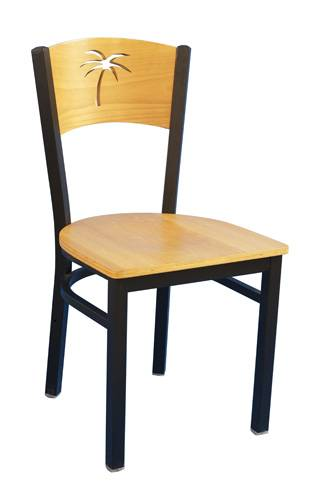 The coco back metal chair restaurant chair dinning room chair