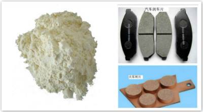 Phenolic resin for friction material