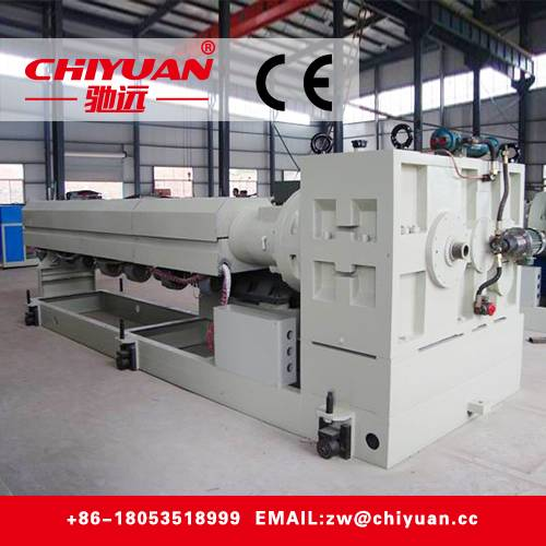 CHIYUAN SJ Series Concial Twin Screw Extruder Made in China No.051