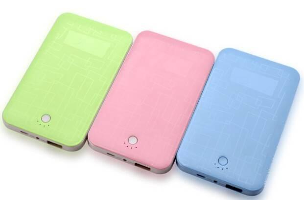 Private design 4000mAh portable mobile slim power bank