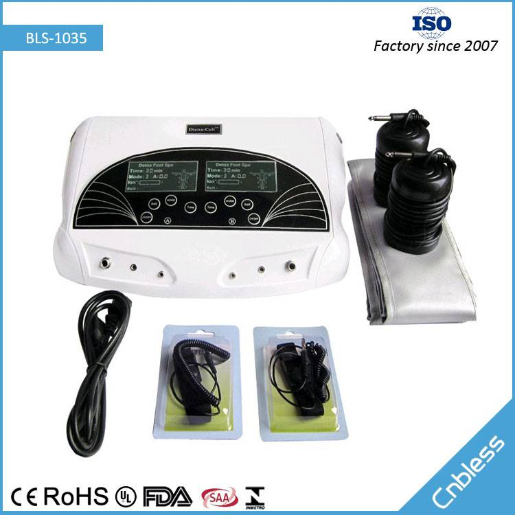 Three Power Modes Dual Person Use Foot Detox Machine BLS-1035