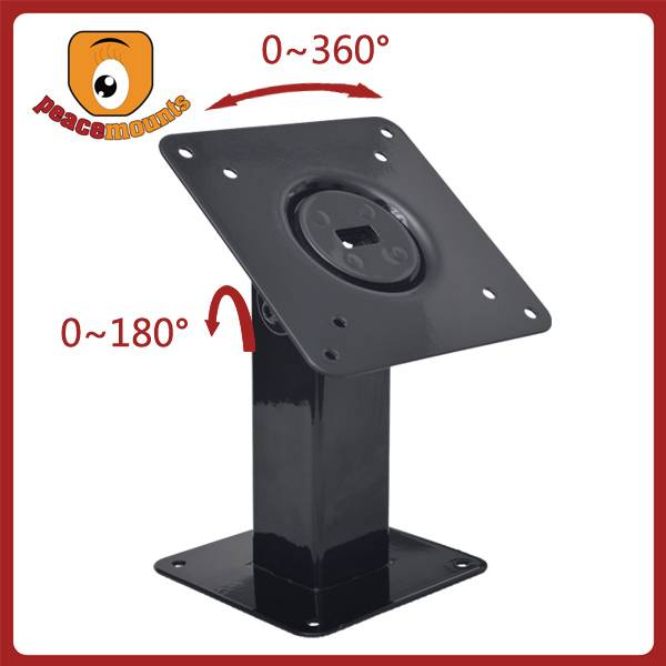 Universal VESA Tablet PC Mount with 180 Degrees Tilt and 360 Degrees Rotation