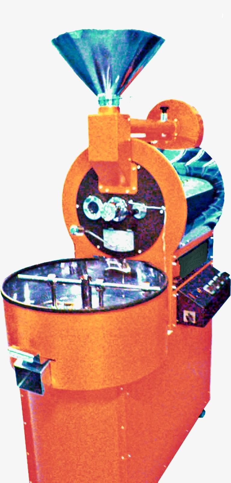 GAS COFFEE ROASTER ( 7 kg / batch )