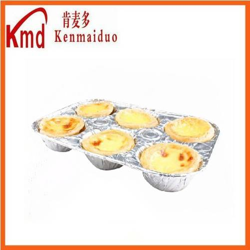 RUD250-6 six seperate aluminum foil container for dinner