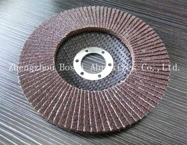 Flap Disc Conical 100-16mm 90mm backing