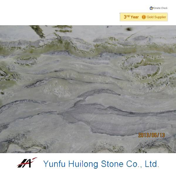 Chinese light green marble