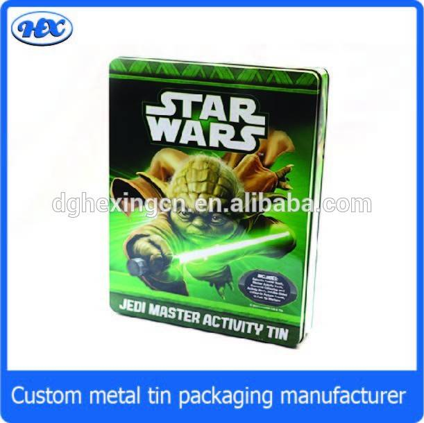 Star war puzzle tin box for gift