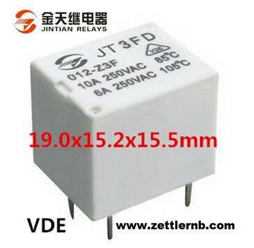 Mini15A Power PCB Power Relay (3FD 1H/1Z) Zettler Relay