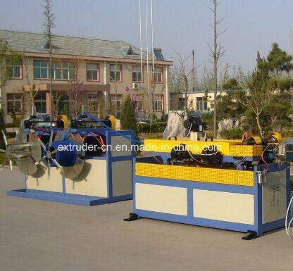 PE PP PVC Single Wall Corrugated Pipe Extrusion Production Line/Making Machine