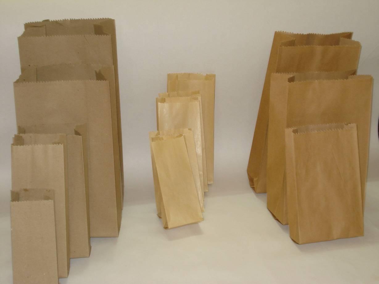 kraft paper bags for food, snacks