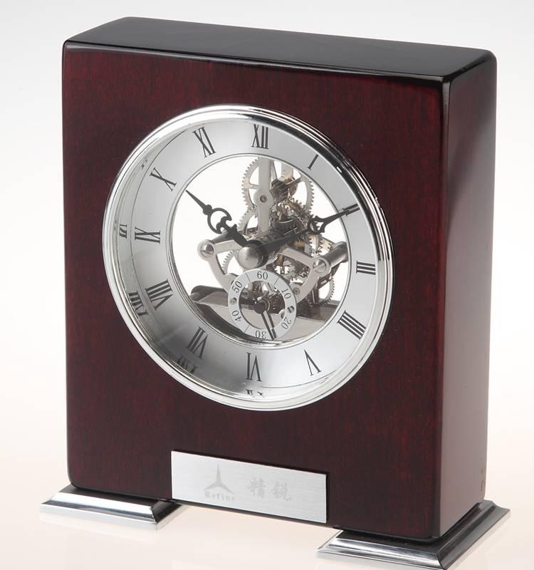 Conda Quartz wooden desk clock K8012