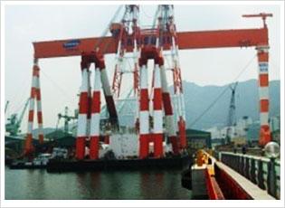 600ton Goliath Crane (G/C)
