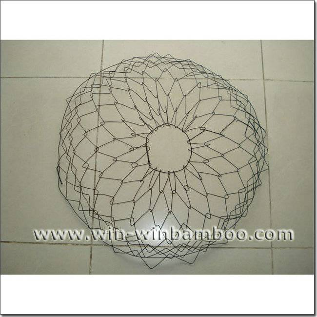 Wire tree rootball baskets for trees nusery