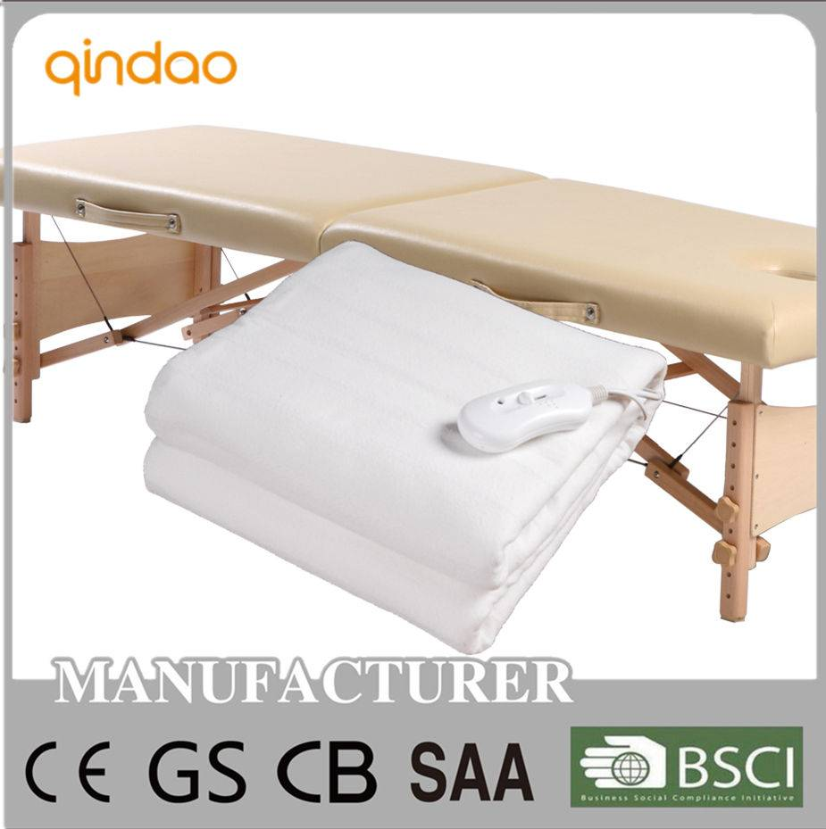 portable appliance electric heating blanket with CE
