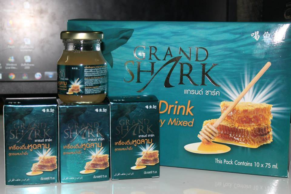 Grand shark Shark fins soup with honey