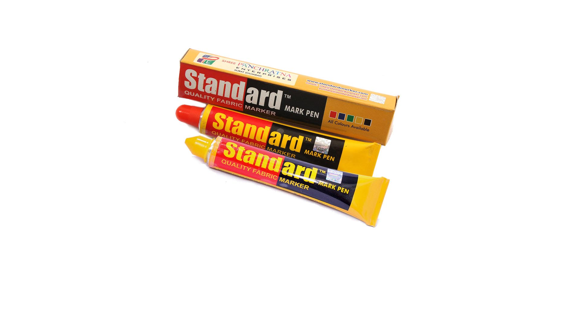 Standard Fabric Marker & Textile Marker - Yellow