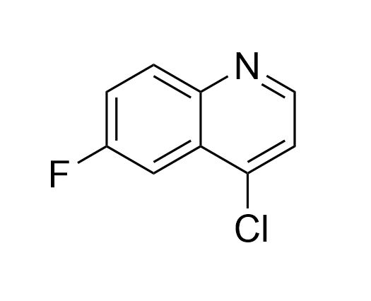 4-chloro-6-fluoroquinoline (CAS NO.:391-77-5)