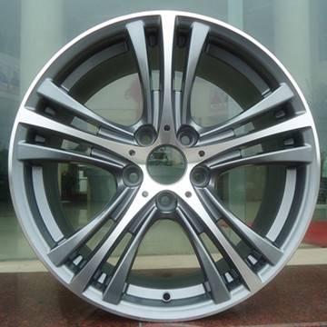 Aluminum car wheels