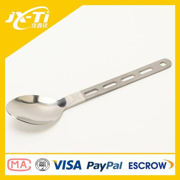 Titanium Camping Spoon Outdoor Spoon
